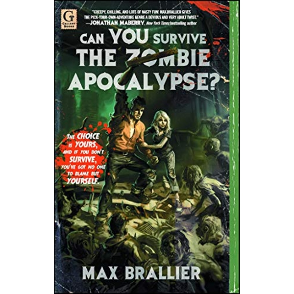 Can You Survive the Zombie Apocalypse? by Max Brallier (Paperback, 2011)