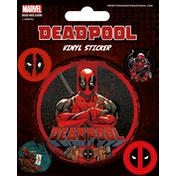 Deadpool - Stick This Vinyl Sticker