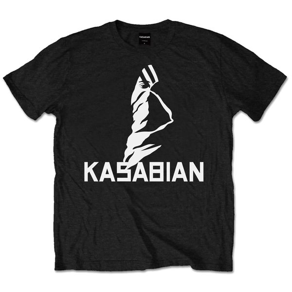 Kasabian - Ultra Face Unisex Small T-Shirt - Black