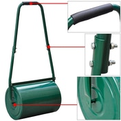 30L Lawn Roller, Heavy Duty Water/Sand Filled Garden Roller Green House