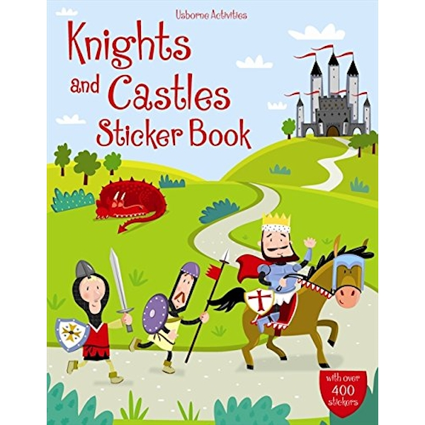 Knights and Castles Sticker Book by Leonie Pratt, Lucy Bowman (Paperback, 2009)