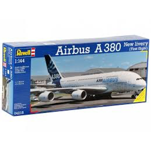 Airbus A 380 Design New livery First Flight 1:144 Revell Model Kit - Image 1