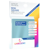 Gamegenic Prime Mini Square Sized 53 x 53 mm 50 Sleeves
