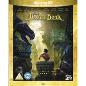 The Jungle Book Blu-ray 3D 2016