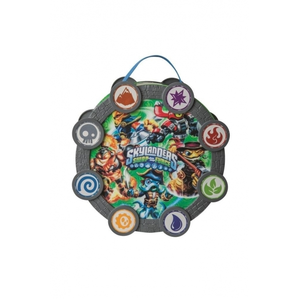 Skylanders Swap Force Stack & and Snap Element Storage Case