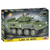Cobi Small Army LAV III APC Tank - 480 Toy Building Bricks