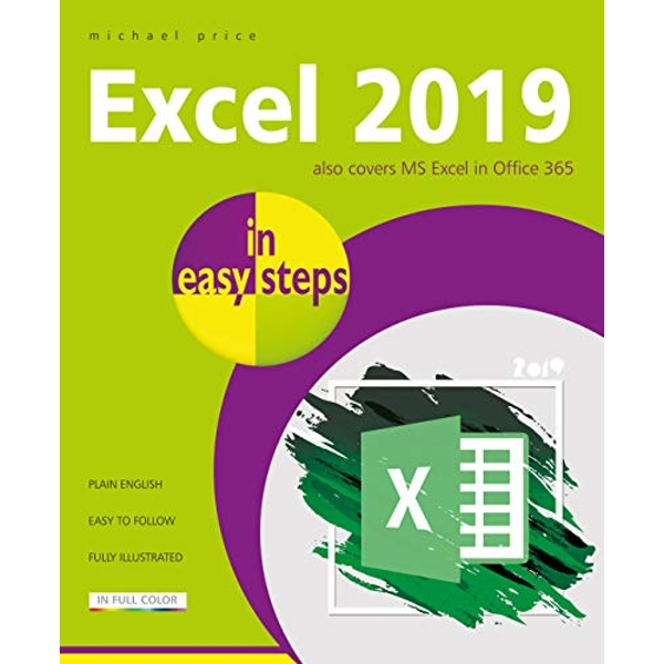 Excel 2019 in easy steps  Paperback / softback 2018