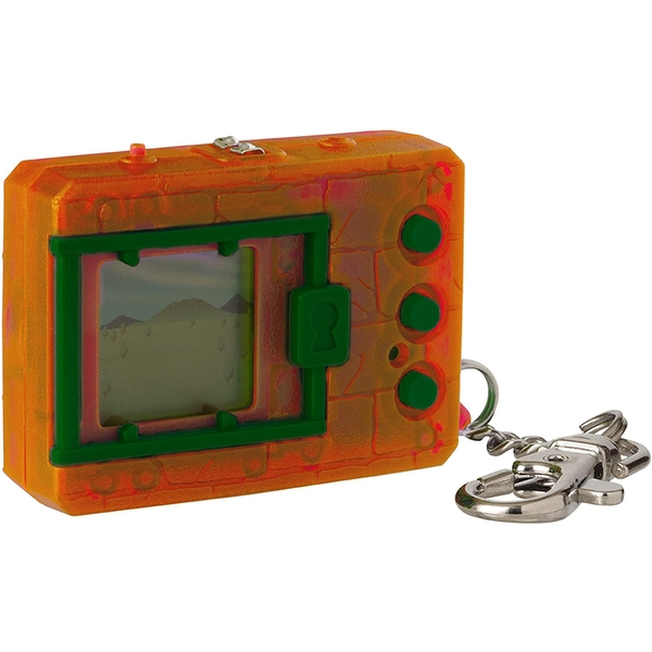 Translucent Orange Digimon Bandai Digivice Virtual Pet Monster