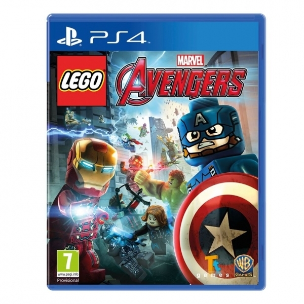 Lego Marvel Avengers PS4 Game