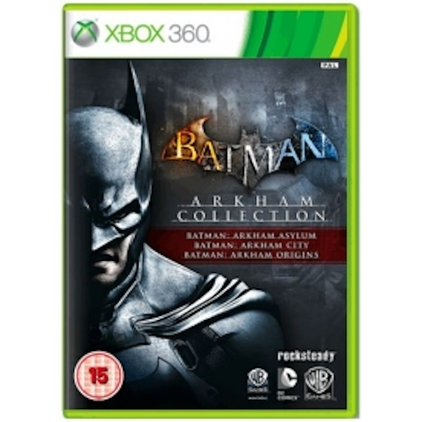Batman Arkham Collection Game Xbox 360