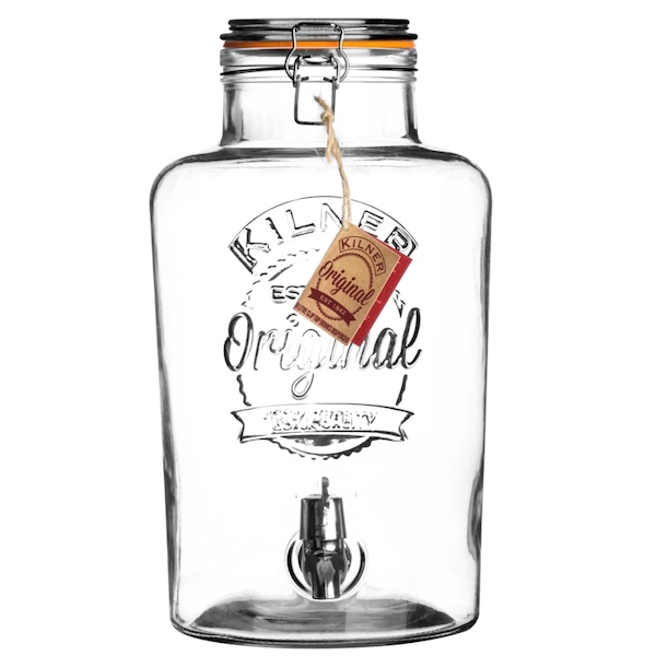 Kilner Clip Top Drinks Dispenser 8L