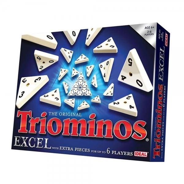 Image of Triominos Excel Game (20 Extra Pieces) Board Game