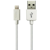 Sandberg Apple Approved Lightning Cable, 1 Metre, White, 5 Year Warranty