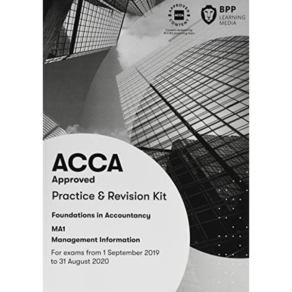 FIA Management Information MA1 Practice and Revision Kit  Paperback / softback 2019