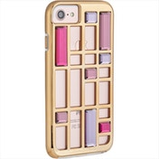 Case-Mate CM034698X Caged Crystal Case for iPhone 8/7/6s/6 Rose Gold