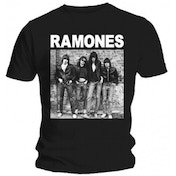 Ramones 1st Album Mens Black T Shirt: Medium