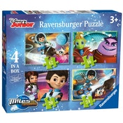 Disney Miles From Tomorrow Puzzles Pack of 4