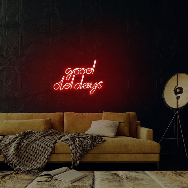 Good Old Days - Red Red Wall Lamp
