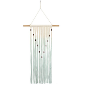 Green and Cream Wall Hanging