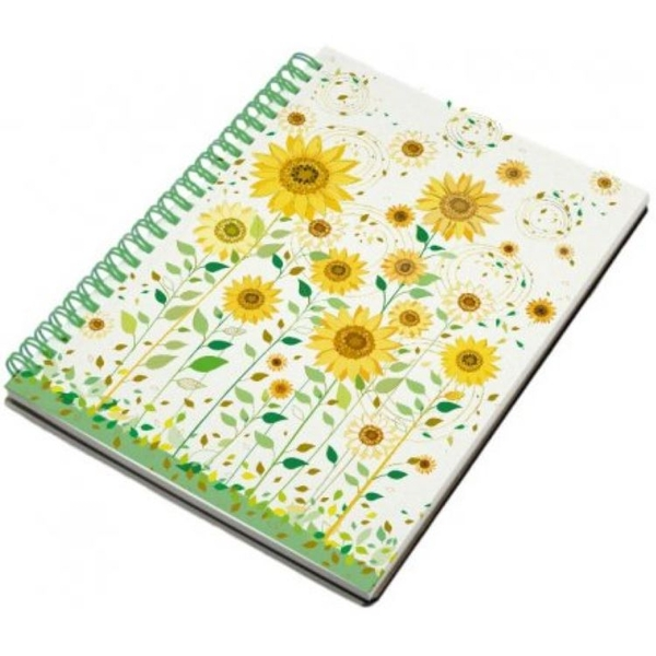 A5 Turnowsky Sunflowers Harback Notebook