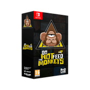 Do Not Feed The Monkeys Collectors Edition Nintendo Switch Game