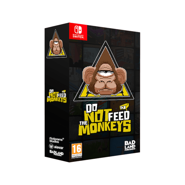 Do Not Feed The Monkeys Collectors Edition Nintendo Switch Game - Image 1
