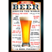 Beer How to Order Maxi Poster