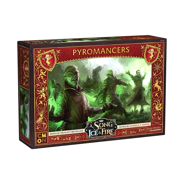 A Song Of Ice and Fire Lannister Pyromancers Expansion
