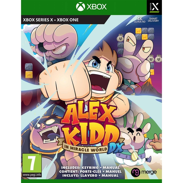 Alex Kidd in Miracle World DX Xbox One | Xbox Series X Game