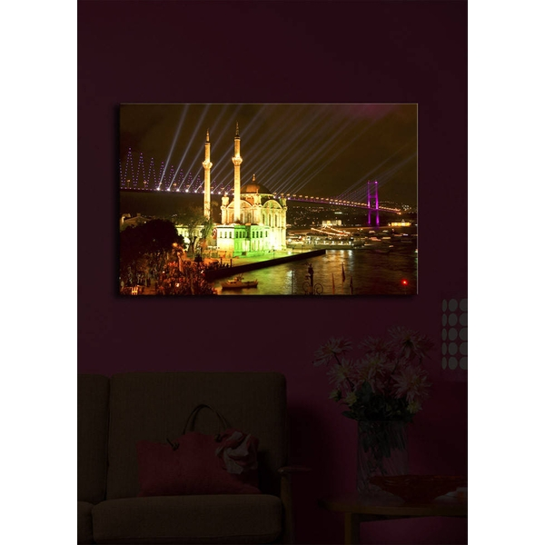 4570?ACT-11 Multicolor Decorative Led Lighted Canvas Painting