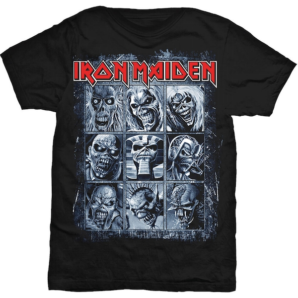 Iron Maiden - Nine Eddies Unisex Small T-Shirt - Black