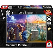 Schmidt New York Night & Day Jigsaw Puzzle - 1000 Pieces