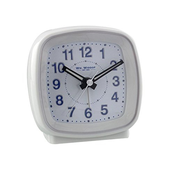Cushion Alarm Clock - White