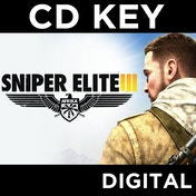 Sniper Elite III 3 PC CD Key Download for Steam