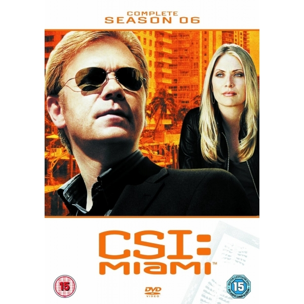 CSI Miami Complete Season 6 DVD