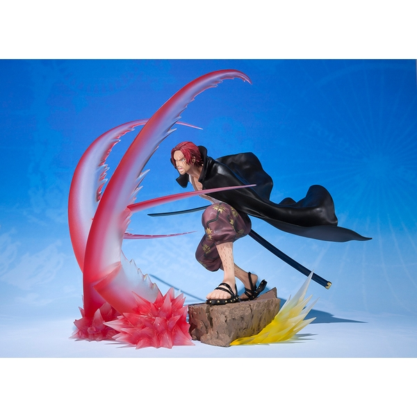 Shanks Sov Haki (One Piece) SH Figuarts Bandai Action