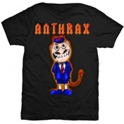 Anthrax TNT Cover Mens Black T-Shirt: Large