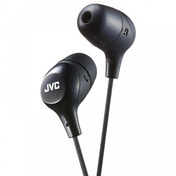 JVC HAFX38B Marshmallow Custom Fit In-Ear Headphones Black