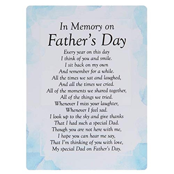 Graveside Memorial Cards - On Father's Day
