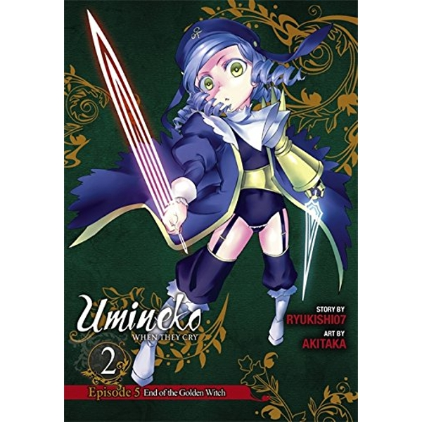 Umineko WHEN THEY CRY Episode 5: End of the Golden Witch, Vol. 2