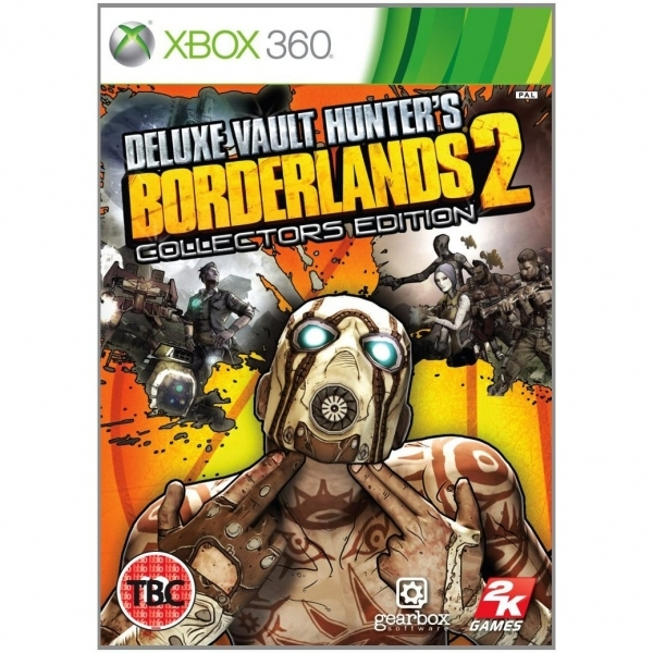 Borderlands 2 Deluxe Vault Hunters Collector's Edition Game Xbox 360