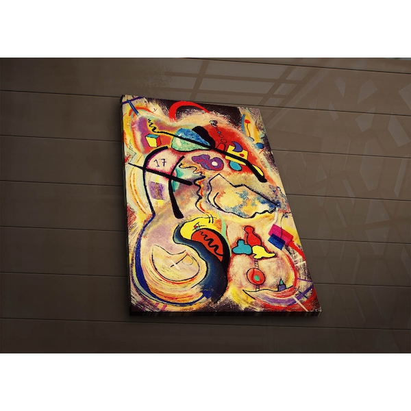 4570?ACT-60 Multicolor Decorative Led Lighted Canvas Painting
