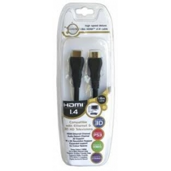 HDMI 1.8m 3D Xbox360 and PS3 Universal Cable