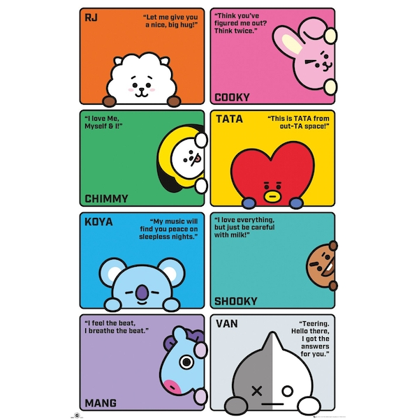 BT21 - Compilation Maxi Poster