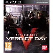 Armored Core Verdict Day Game PS3