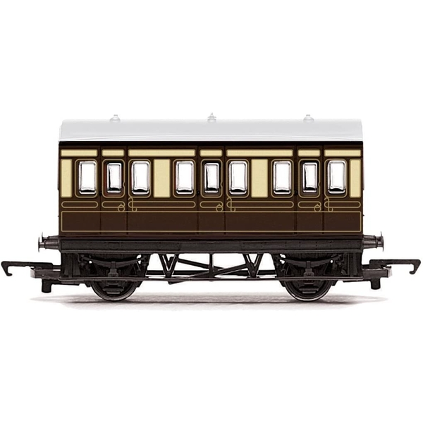 Hornby Gauge RailRoad GWR 4 Wheel Coach Model Train