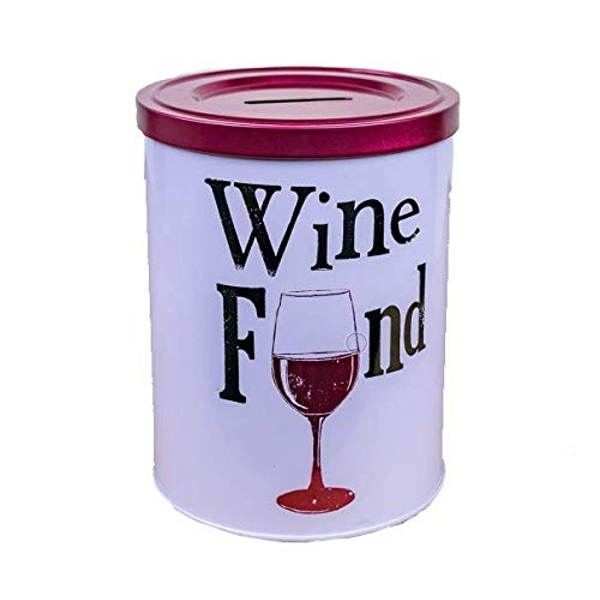 Brightside Wine Fund Money Tin (One Random Supplied)