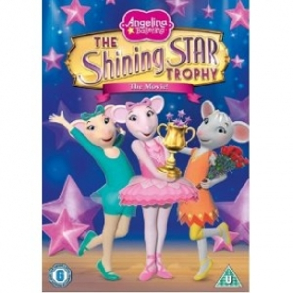 Angelina Ballerina The Shining Star Trophy DVD