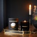 Coconut & Mango (Wonderwick) Noir Glass Candle - Image 3