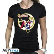 Sailor Moon - Sailor Moon Women's Medium T-Shirt - Black